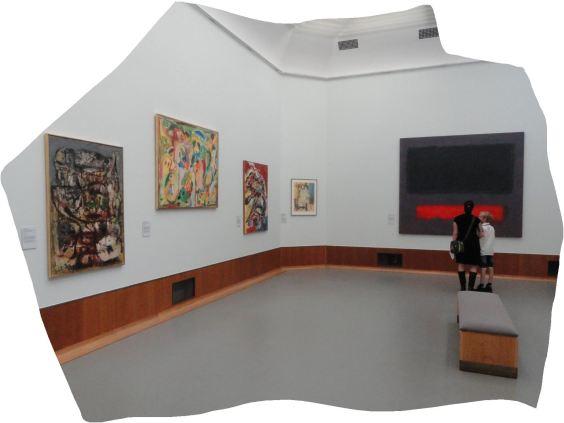 Museo Boijmans Van Beuningen. Sala de los expresionistas abstractos. Foto R.Puig