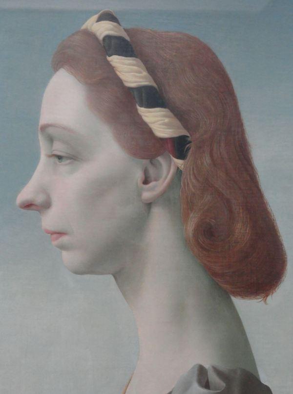 Pyke Koch. Retrato de la señora van Boetzelaer. 1948. Museo Boijmans Van Beuningen.Foto R.Puig