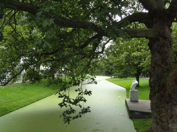 Rotterdam. Canal del Museumpark. Foto R.Puig