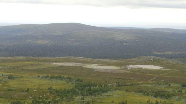 Corrales de renos en el norte de Dalarna. Foto R.Puig