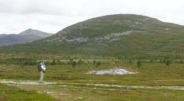 El Rundhøgda y al fondo a la izquierda el Sushøgda. Foto R.Puig
