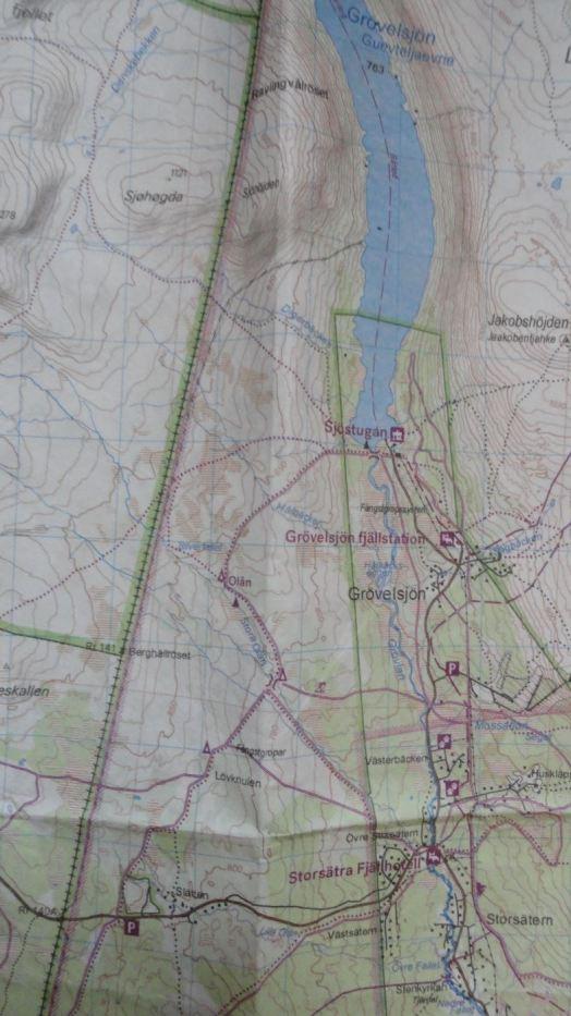 Grövelsjön y el inicio de la ruta de Linneo. Foto R.Puig