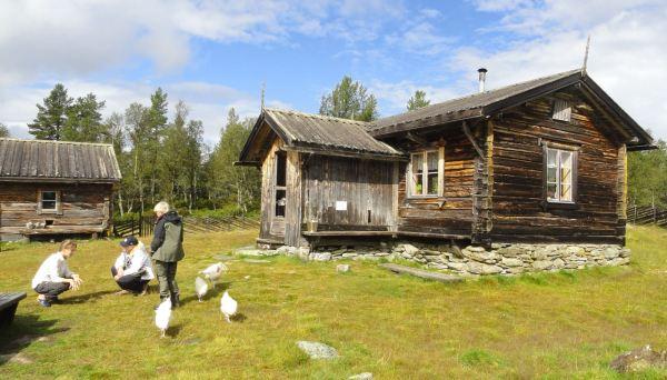 Escuchando a la joven granjera de Valdalsbygget. Foto R. Puig