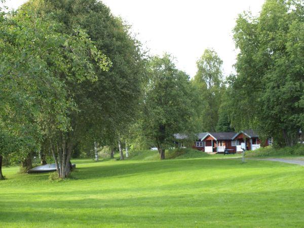 Hospedaje a la orilla del Klarälven. Foto R.Puig