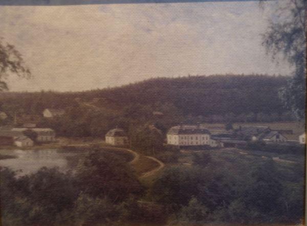 Kloster en 1870. Óleo de pintor anónimo. Foto R.Puig
