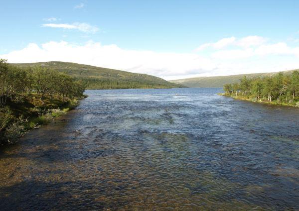 Nacimiento del Osterdalälven en el Grövelsjön. Foto R.Puig