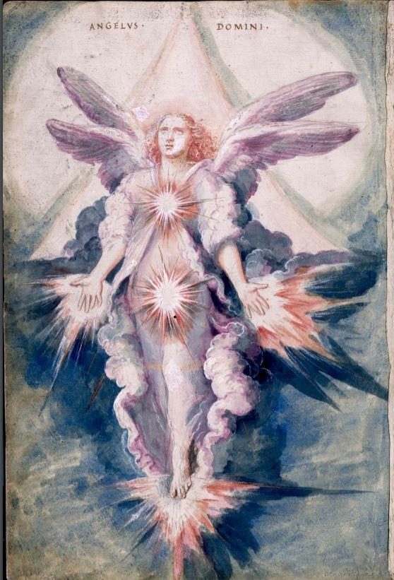 Francisco de Holanda. De Aetatibus Mundi Imagines. Angelus Domini. BNE Madrid