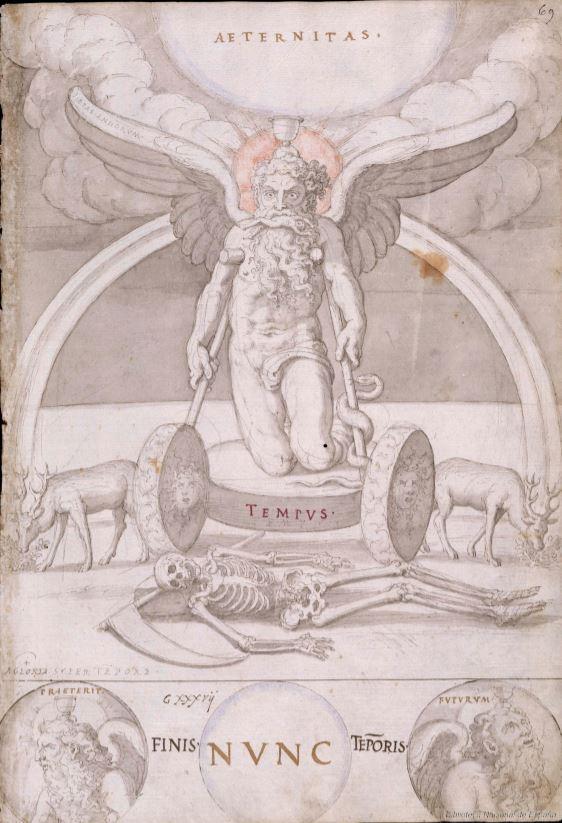 Francisco de Holanda. De Aetatibus Mundi Imagines. El fin de los tiempos.. BNE Madrid