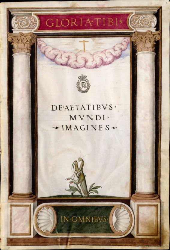 De Aetatibus Mundi Imagines. Frontispicio. BNE Madrid