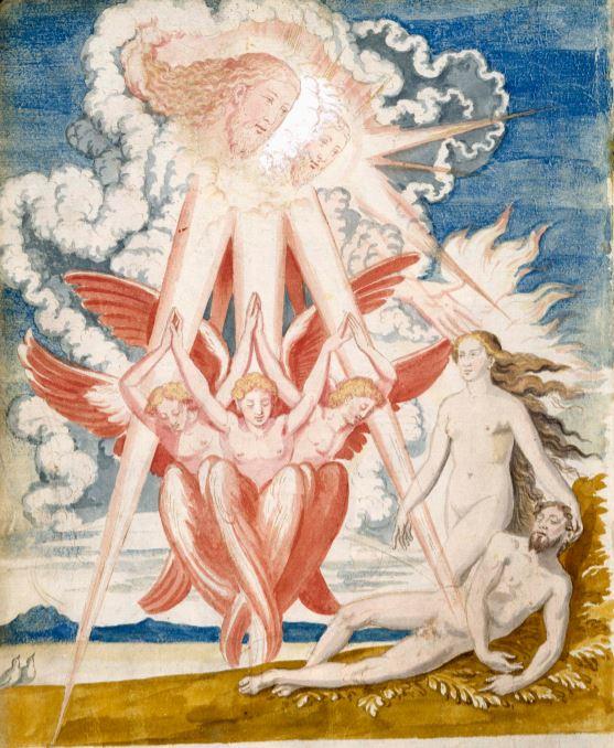 """De Aetatibus Mundi Imagines. """"Non est bonum hominem esse solum"""". Manuscrito de la Biblioteca Nacional de Madrid"""
