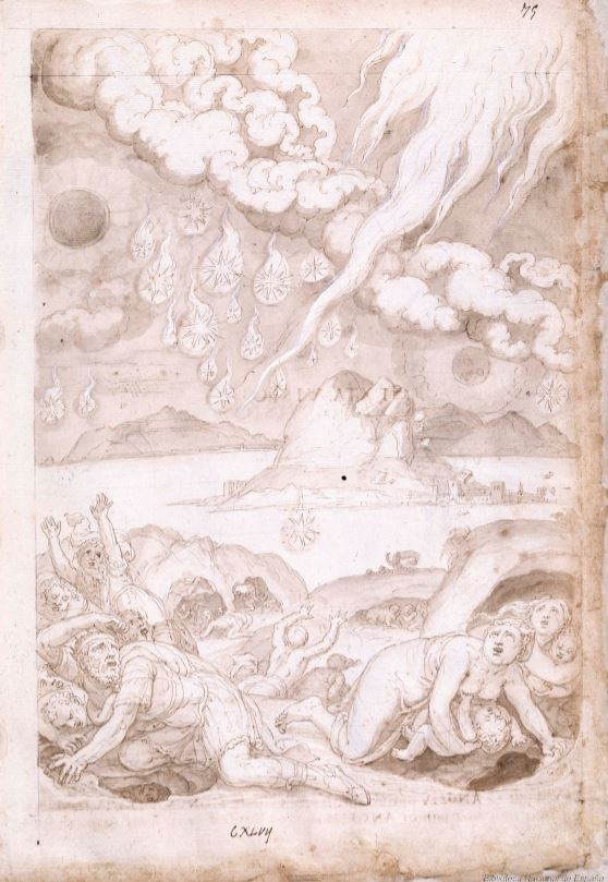 Francisco de Holanda. De Aetatibus Mundi Imagines.Visión quinta. BNE Madrid