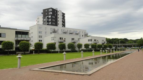 El tranquilo barrio de Eriksberg. Foto R.Puig