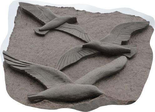 Escultura de Ivana Machackova en el muelle de Eriksberg. Detalle. Foto R.Puig