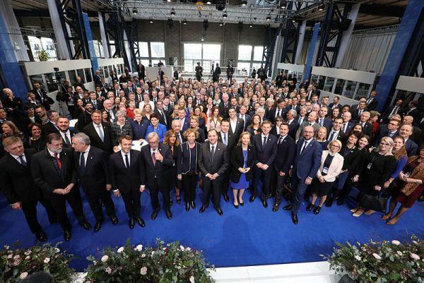 Los participantes en la cumbre informal sobre el Pilar Social. Foto Sören Andersson