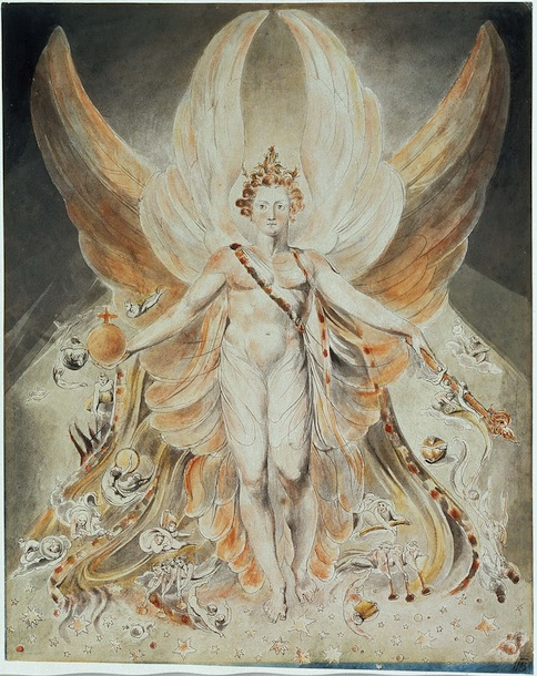 William Blake. Satanas en su forma original. Tate Collection