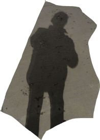 Mi sombra. Foto R.Puig