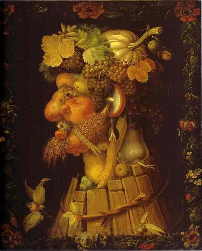 Arcimboldo. El otoño. 1573