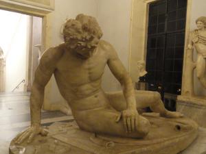 Galo moribundo. Museos Capitolinos. Foto R.Puig
