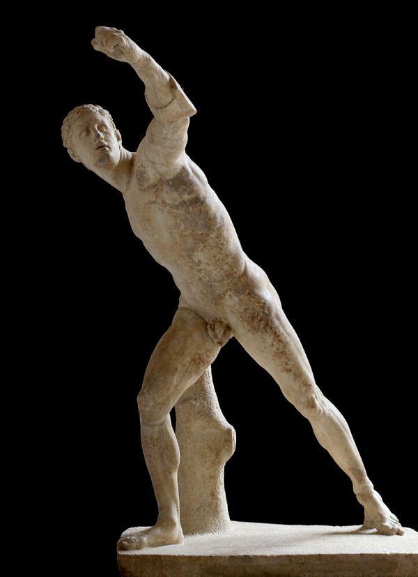 Gladiador Borghese. Siglo III a.C. Louvre