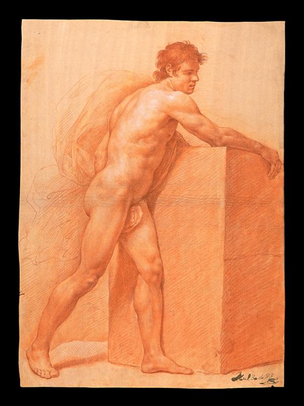 José Maea Desnudo con piedra 1783