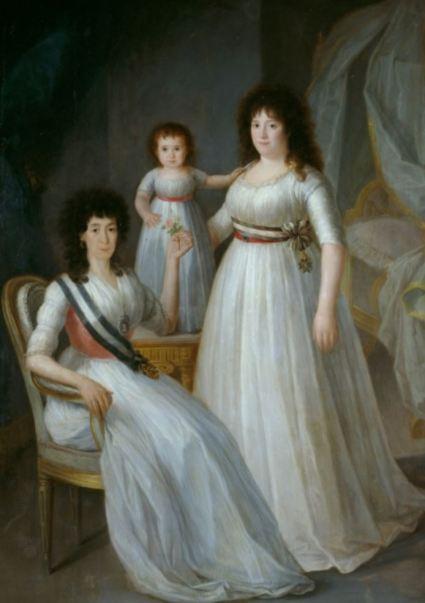 La Duquesa de Osuna. Agustín Esteve. Museo del Prado