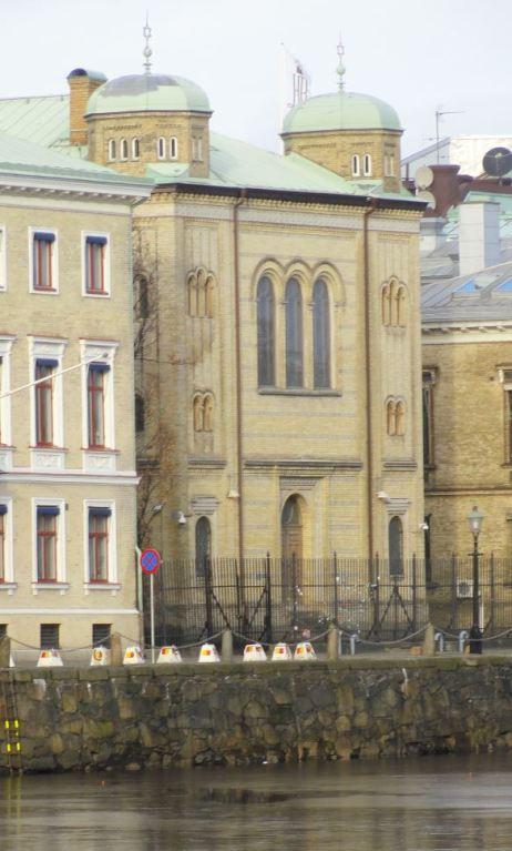 Sinagoga de Gotemburgo. Finales del s.XIX. Foto R.Puig