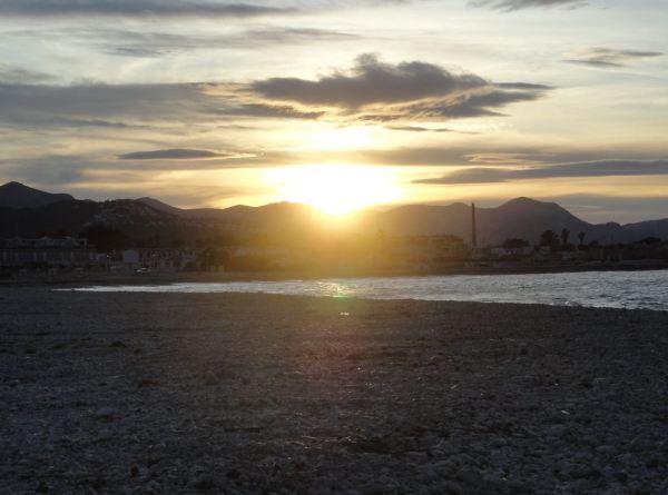 Ocaso. Foto R.Puig