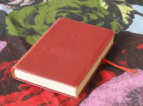 El libro aguarda. Foto R.Puig