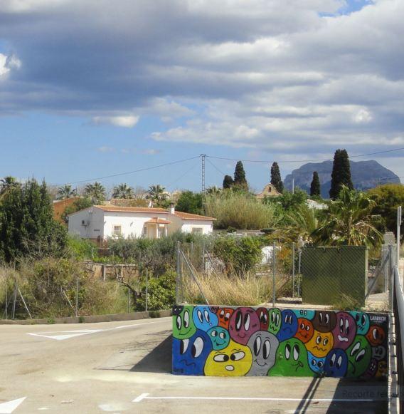 El Montgó visto desde Ondara. Foto R.Puig