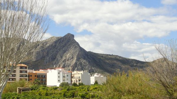 El Segaria desde Ondara. Foto R.Puig