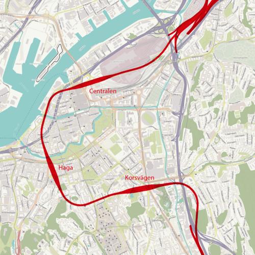 Västlänken o la lombriz gigante de Gotemburgo