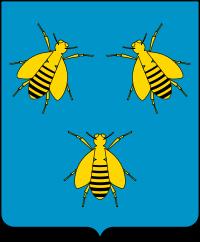 Escudo de armas de los Barberini. Wikipedia