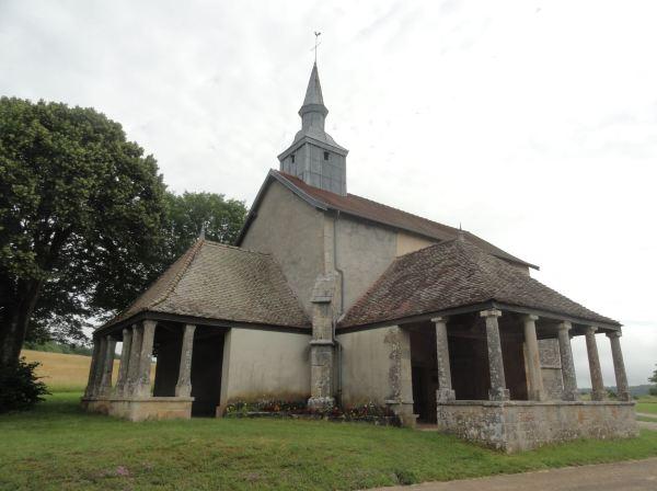 Capilla de Santa Gertrudis. s. XVI. Selongey. Foto R.Puig