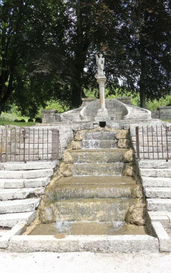Cascada de época barroca. Fontenay. Foto R.Puig
