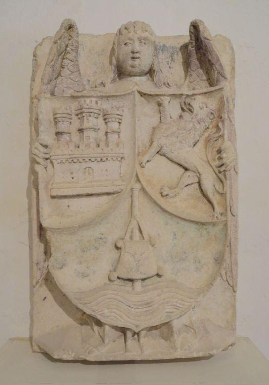 Escudo de los Reinos de Castilla y León. s. XIV. Colección Aynard. Fontenay. Foto R.Puig