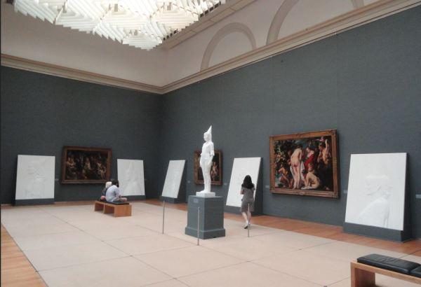 Exposición My queens. Jean Fabre. Museos Reales de Arte de Bruselas. Foto R.Puig