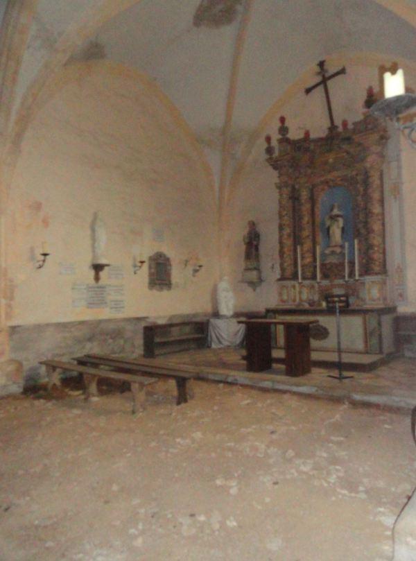 erior devastado de Santa Gertrudis. s. XVI. Selongey. Foto R.Puig