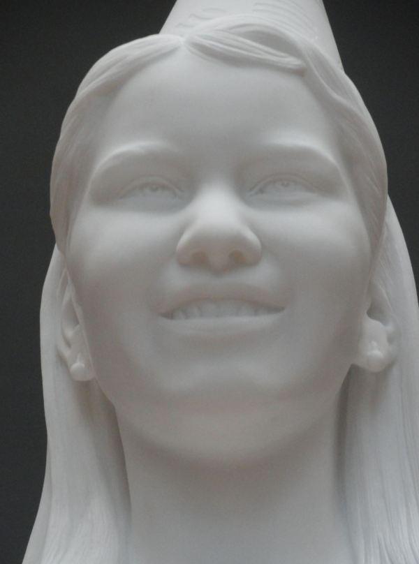 Mi futura reina Elisabeth de Bélgica. Jean Fabre. Museos Reales de Arte de Bruselas. Foto R.Puig