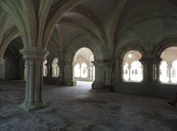 Sala capitular de Fontenay. Foto R.Puig
