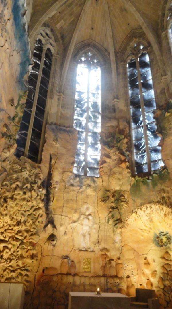 Capilla del Santísimo. Miquel Barceló. Palma de Mallorca. Foto R.Puig