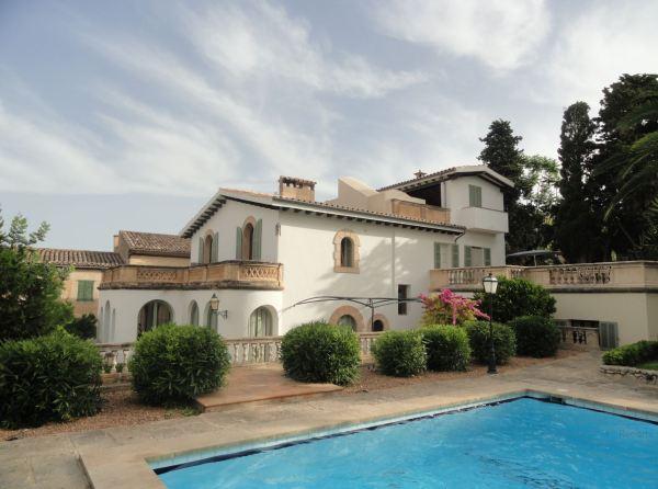 La Casa del Italiano en Montuiri, hoy Can Moio. Foto R.Puig