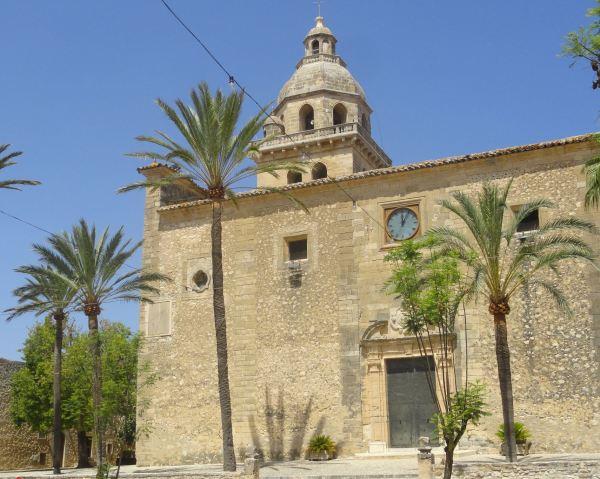Montuiri. La iglesia mayor.Foto R.Puig