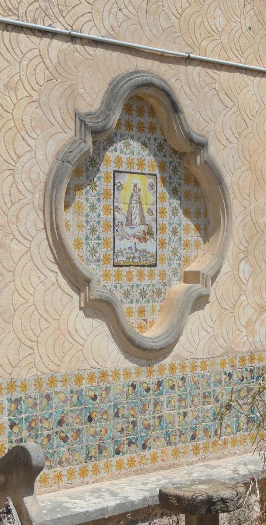 Montuiri. Ornamento de una fachada. Foto R.Puig