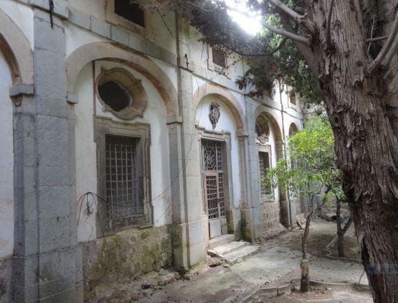 Rincón del claustro. Cartuja de Valldemossa. Foto R.Puig