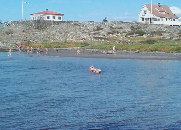 Costa Oeste de Suecia.Ultimas zambullidas. Foto R.Puig