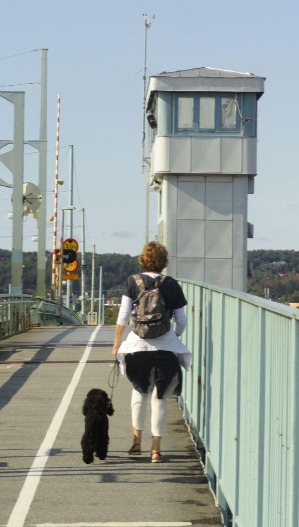 Por el puente viejo. Foto R.Puig