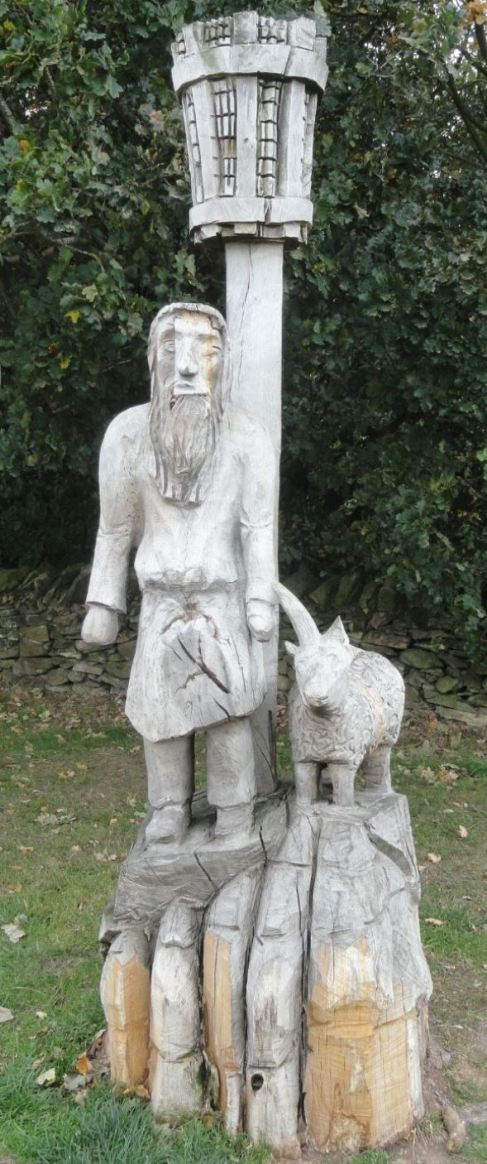 The shepard and the ram by Peter Leadbeater. Beacon Hill. Foto R.Puig