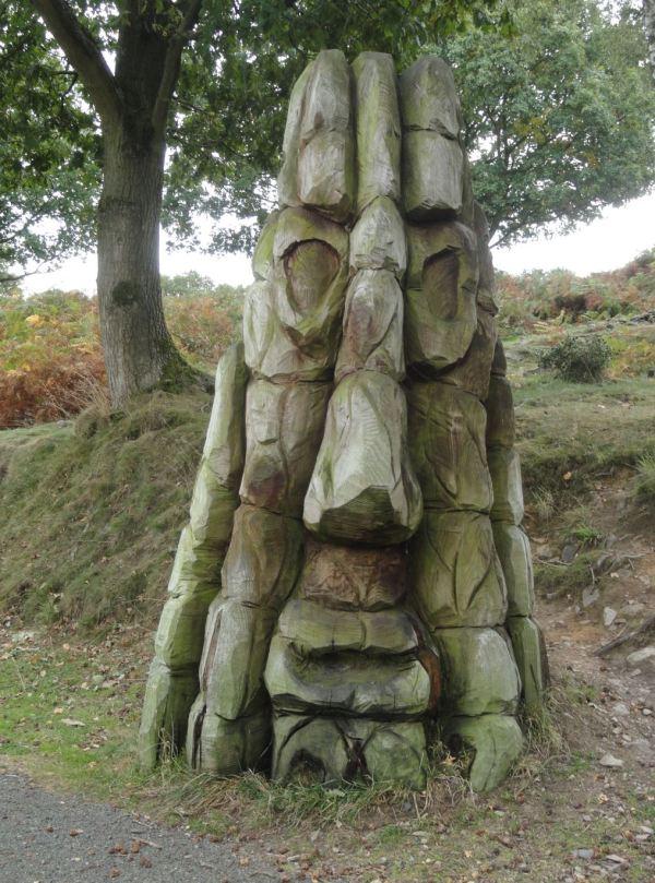 Un gigante narigudo en Beacon Hill. Foto R.Puig