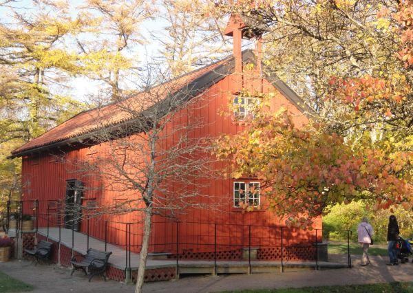 La casita de exposiciones. Jardín botánico de Gotemburgo. Foto R.Puig
