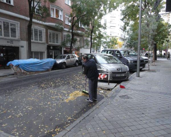 Mañanita de noviembre en Chamberí. Foto R.Puig